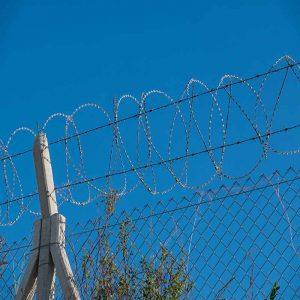 beton direkli tel çit yapımı
