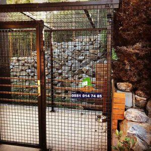 köpek kulübesi panel çit