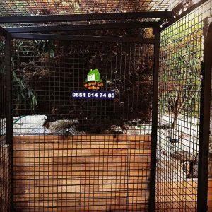 panel çit köpek kulübesi