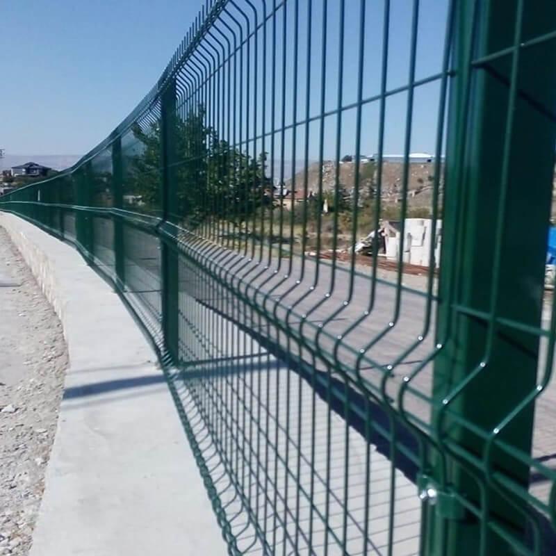 panel çit ayakları