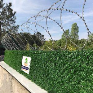 panel çit düzlemsel jiletli tel