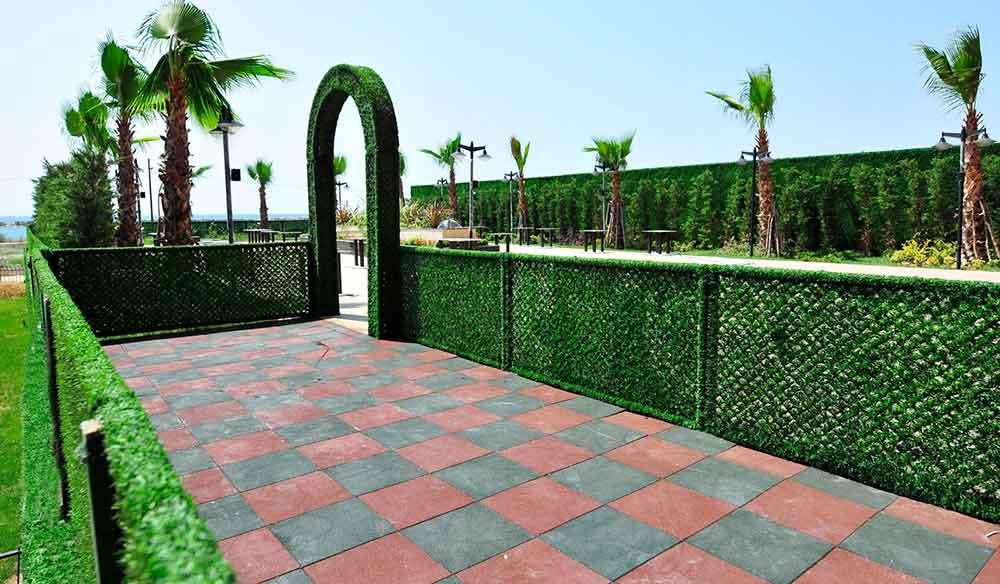 Bahçe çiti & Yeşil Tel Çit Montajı Nasıl Yapılır?