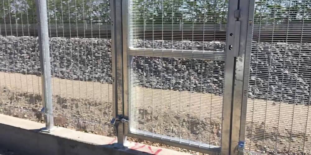 yüksek güvenlikli çit