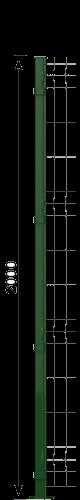 200 cm Panel Çit Direği
