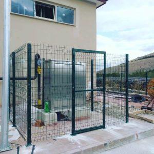 panel çit döşeme