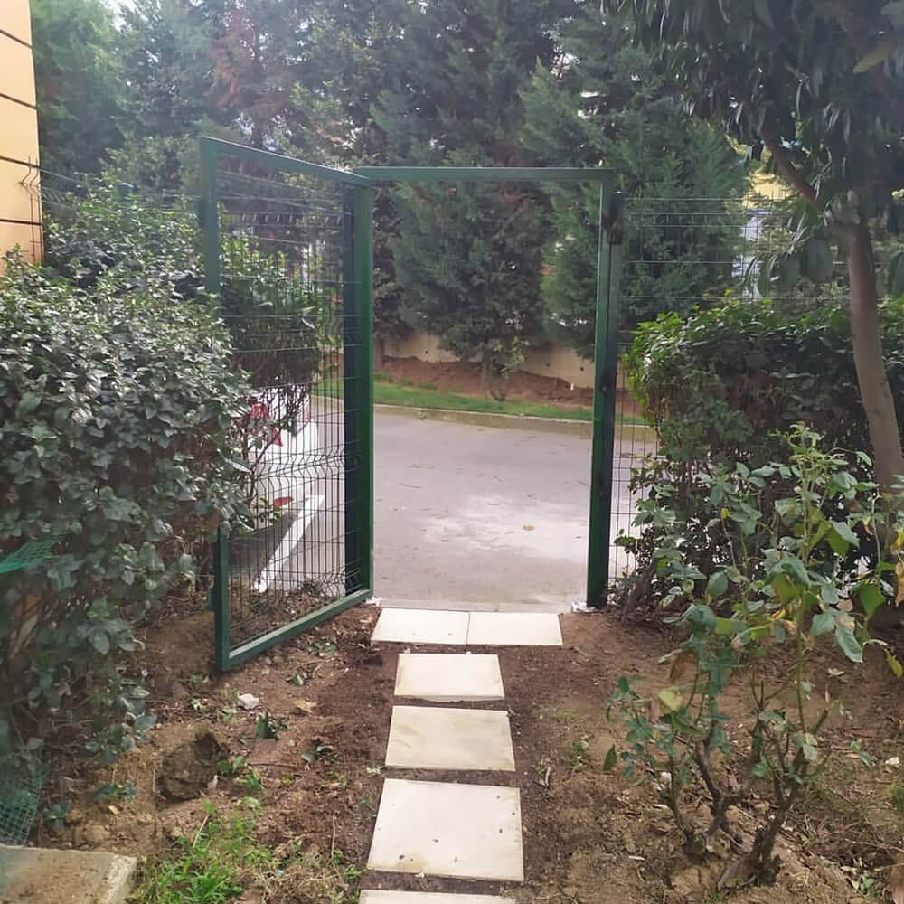 Panel Çit Kapı Yapımı