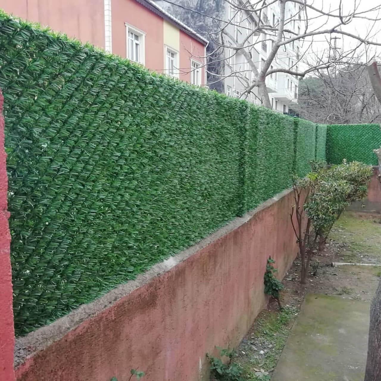 bahçe çit modelleri
