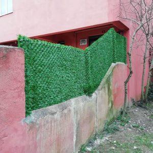 yeşil çit