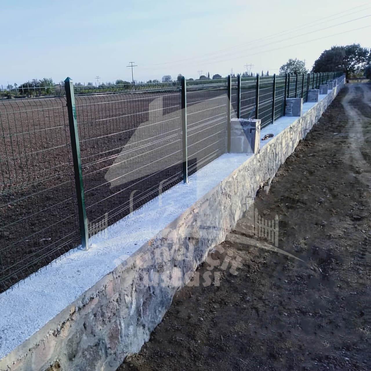 duvar üstü panel çit yapılması birim fiyat