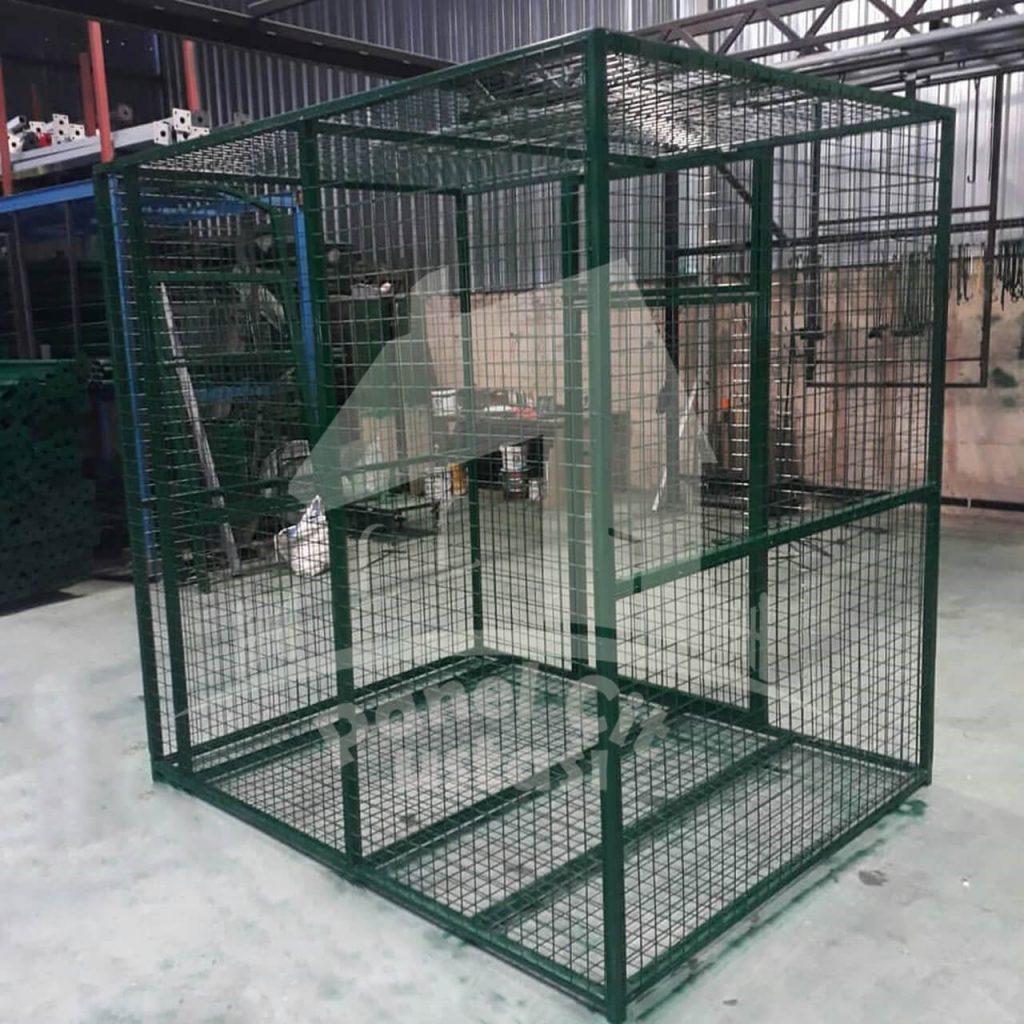 galvanizli kafes telden çit yapılması