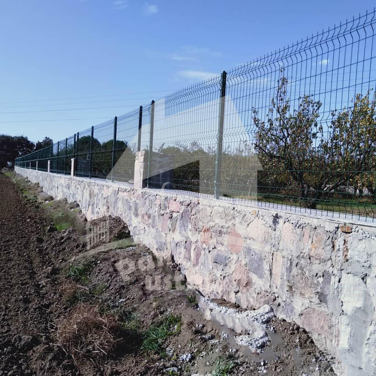 panel çit korkuluk temini ve montajının yapılması