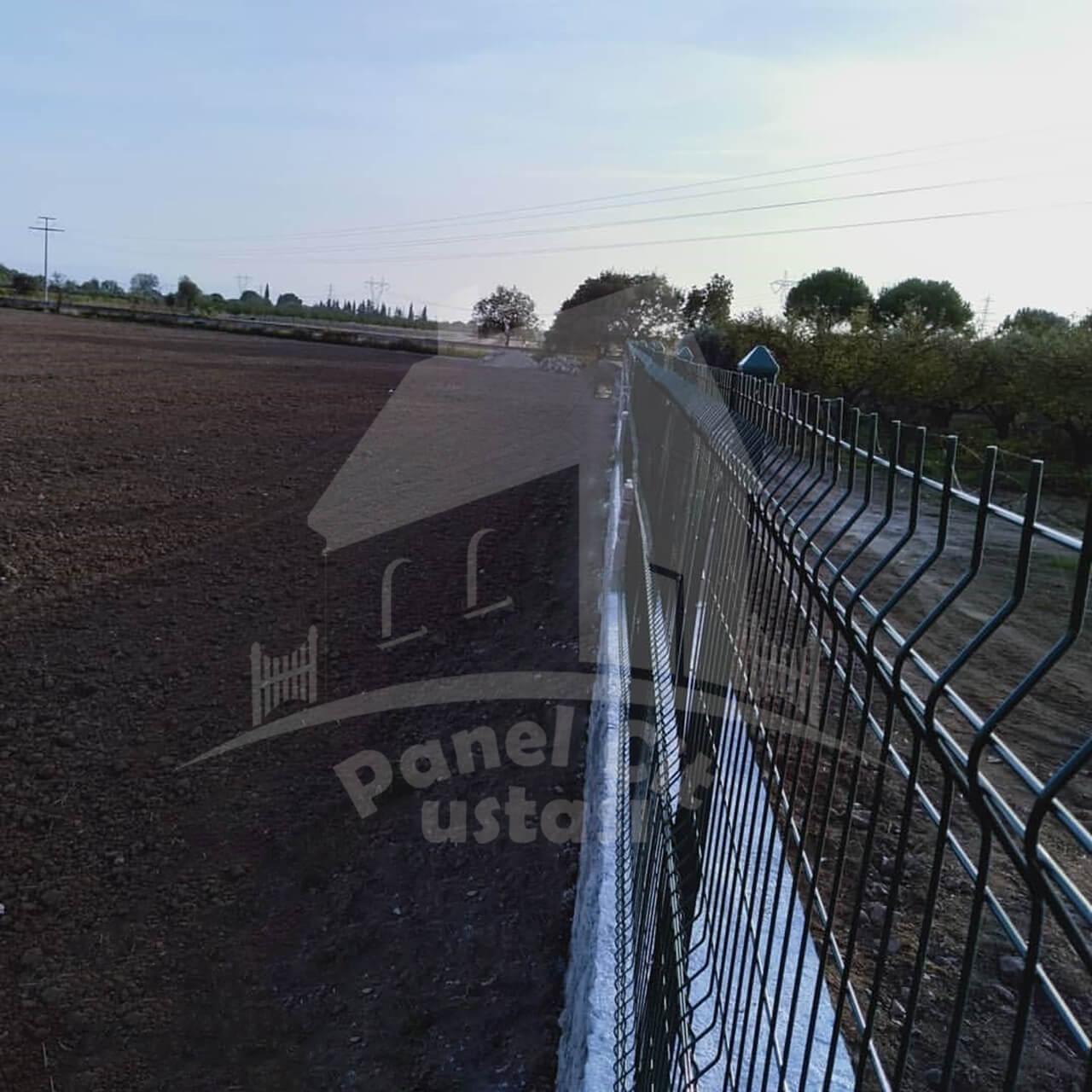 panel çit korkuluk yapılması