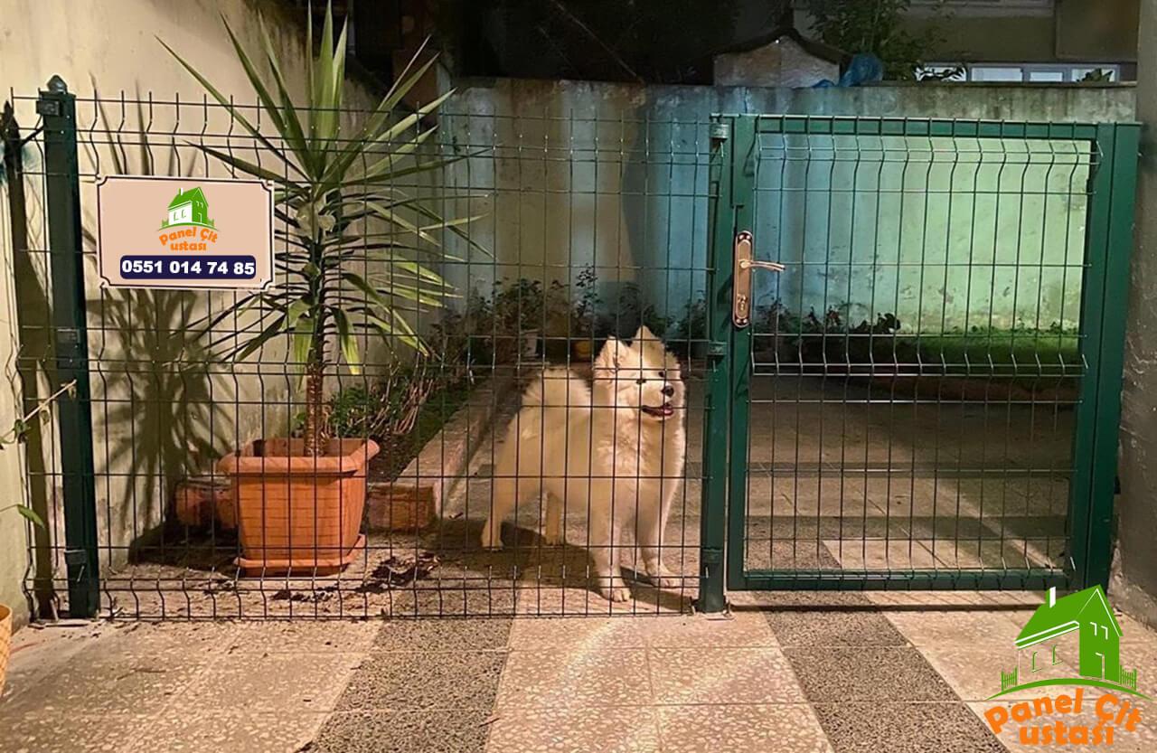 köpek için panel çit