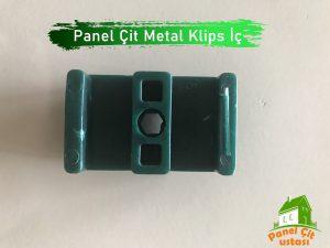 panel çit bağlantı aparatı metal klips