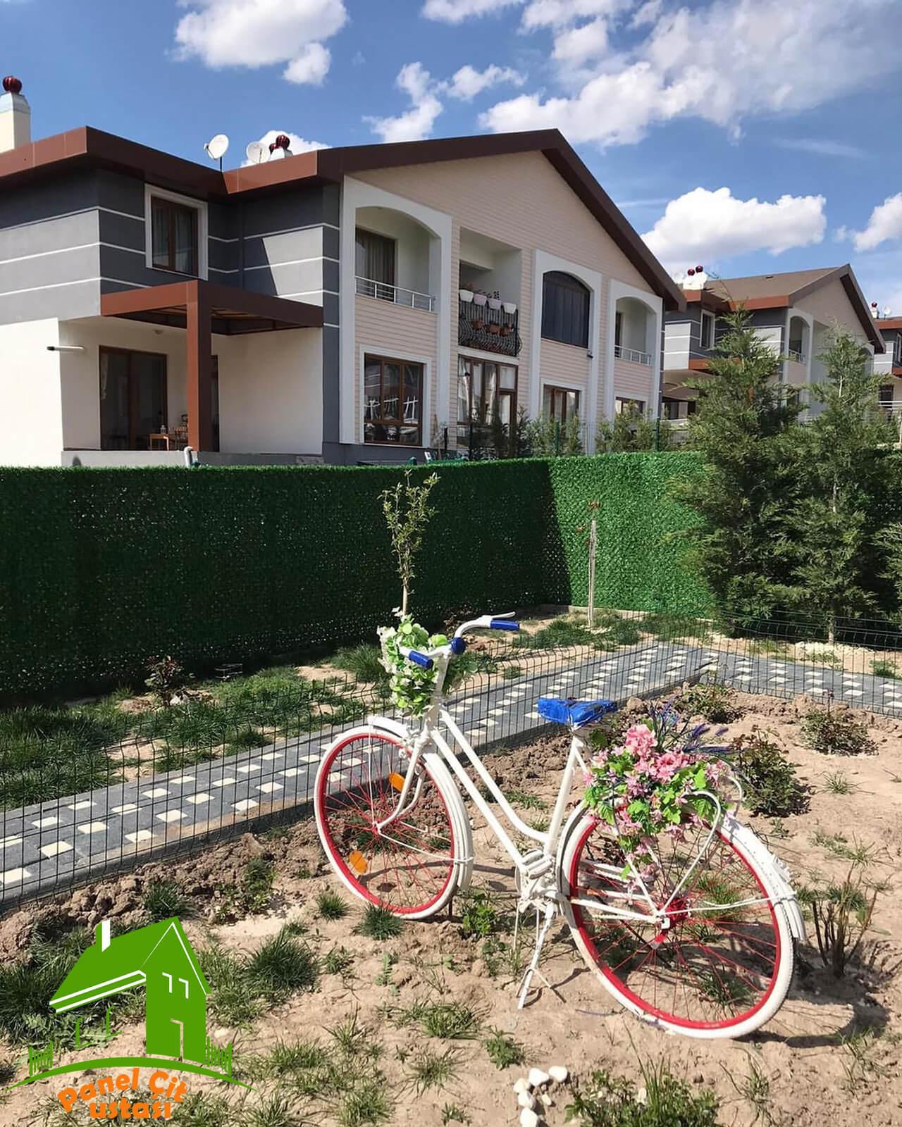 bahçe için çit