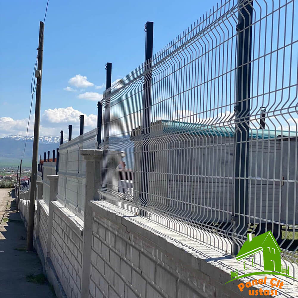 beyaz çit teli