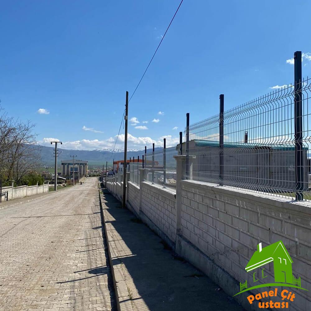 beyaz panel çit fiyatları
