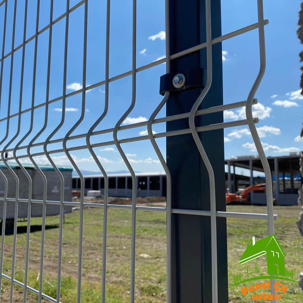panel çit teli beyaz