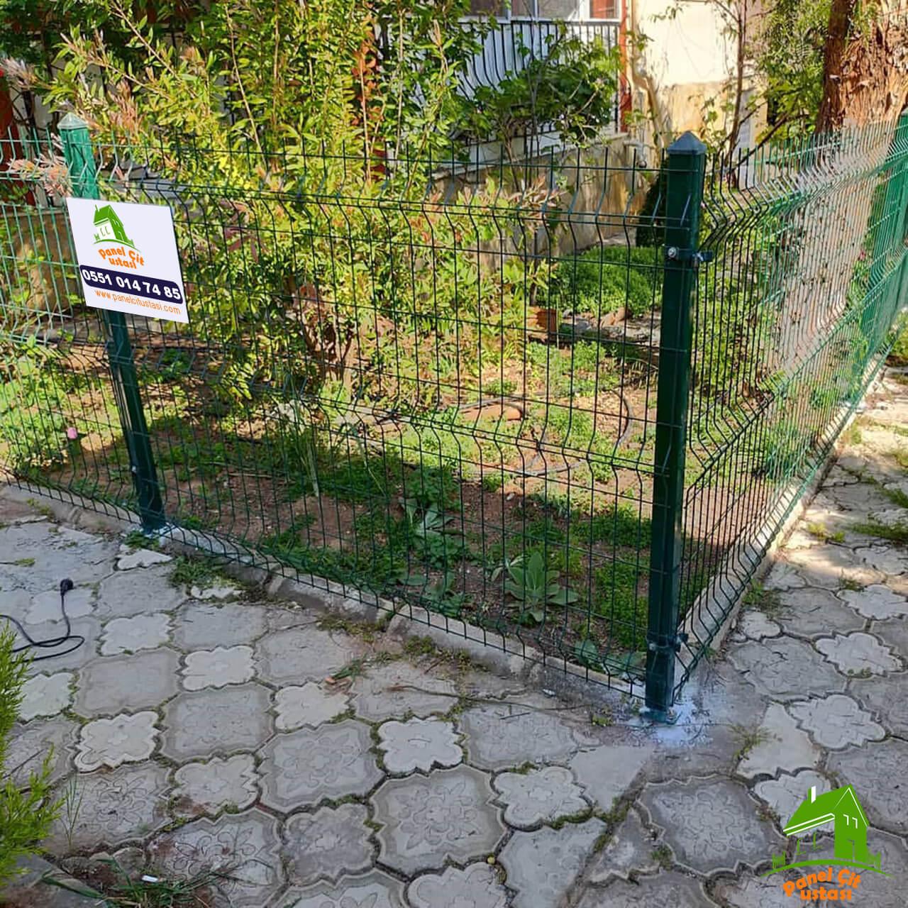 Duvar üstü çit uygulama