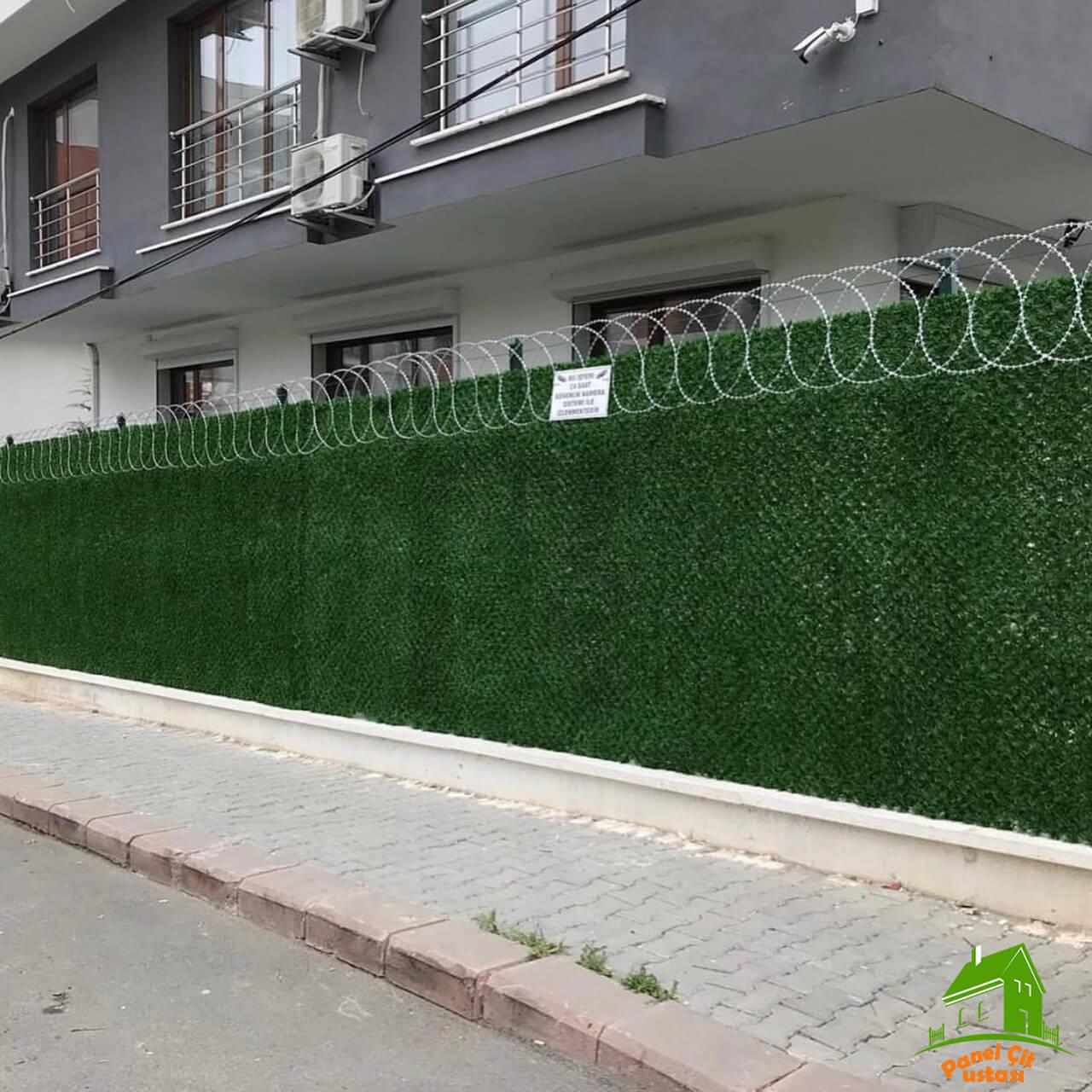 jiletli panel çitler