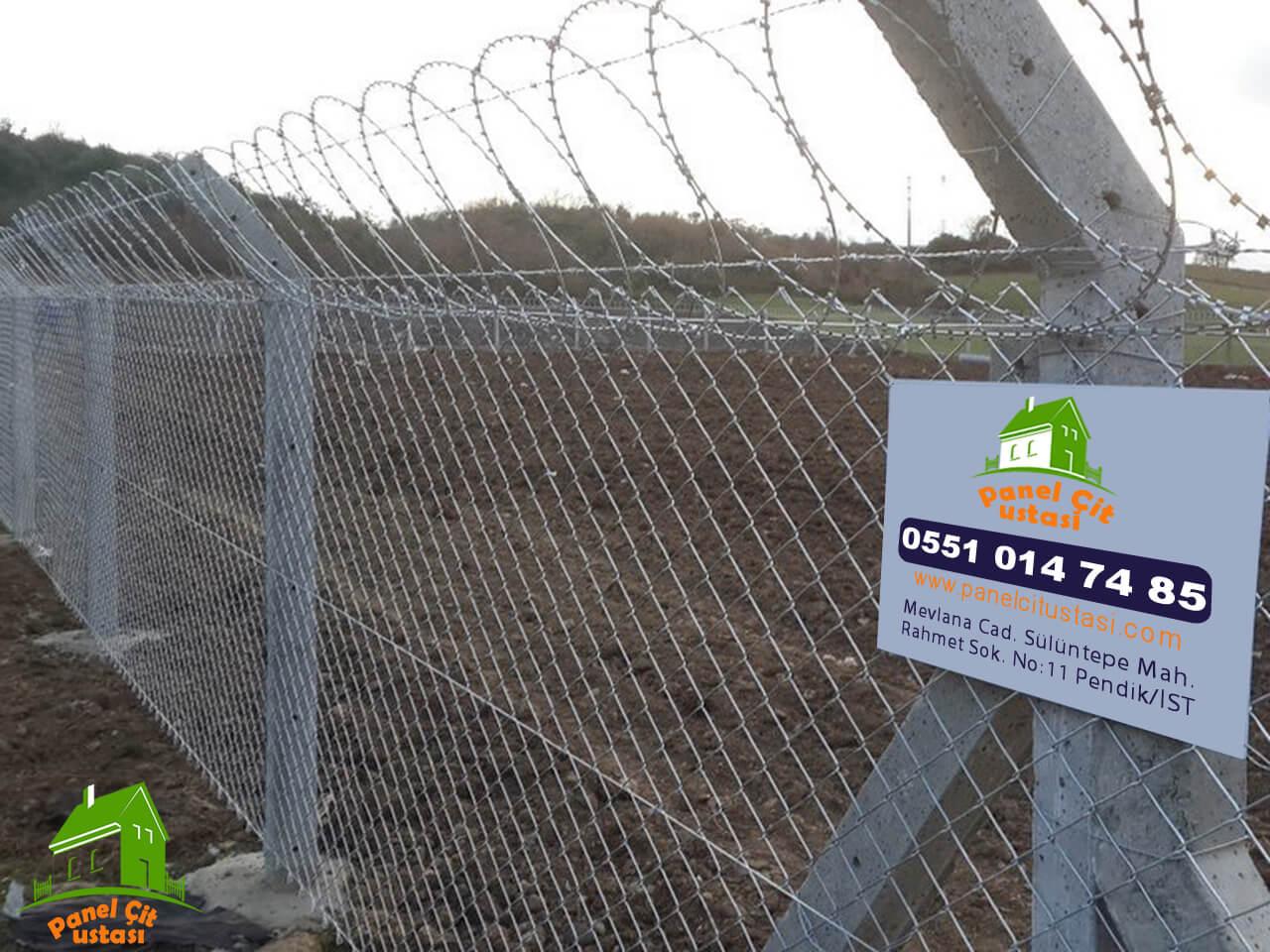 kendinden jiletli panel çit fiyatları