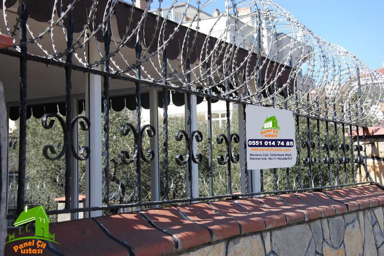 kendinden jiletli telli panel çit fiyatları