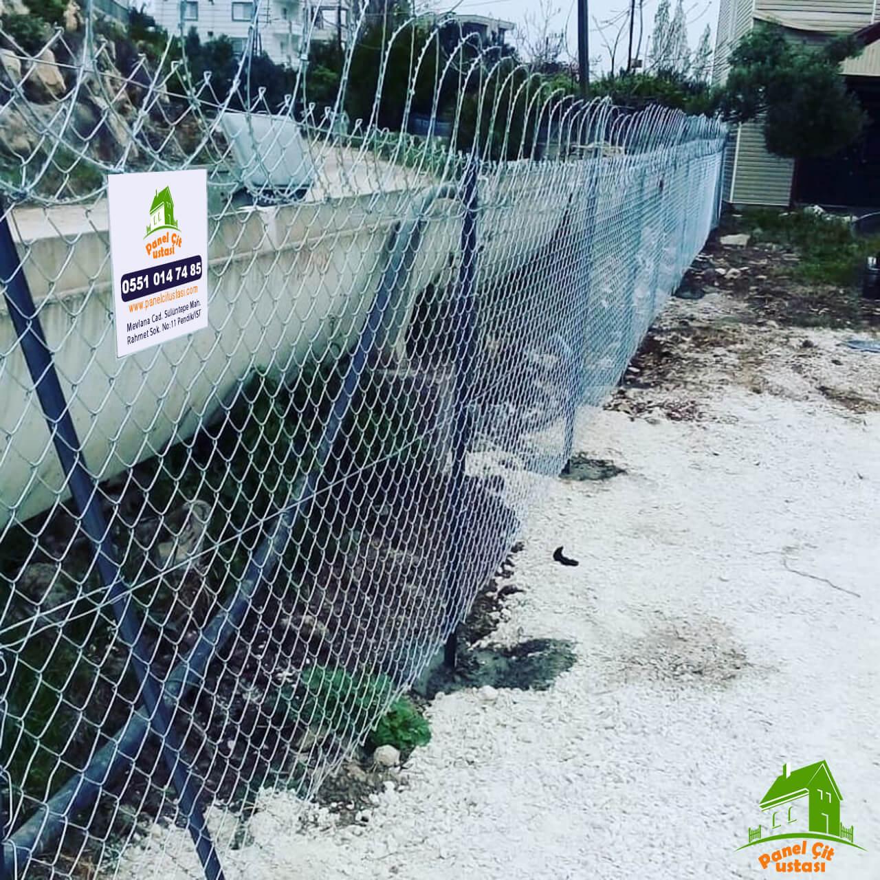 panel çit jiletli teller